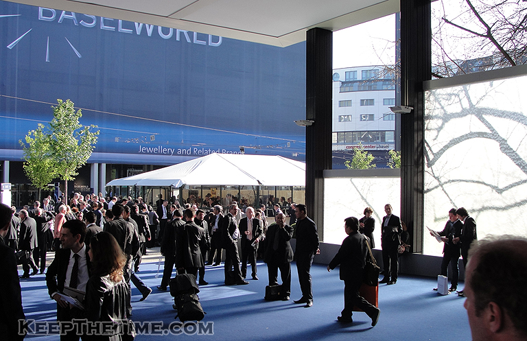 Baselworld 2010: Looking Out Of The Front Door Of Hall 1 In Basel