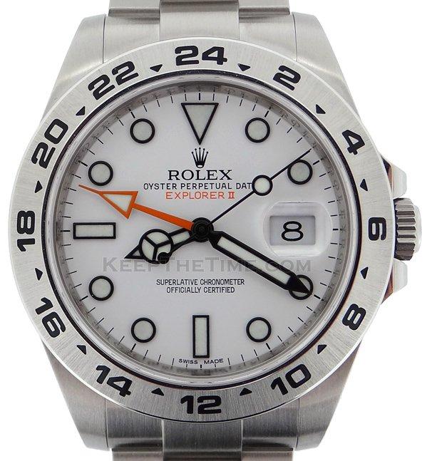 Rolex 216570 Explorer Ii 42mm Orange Hand 10