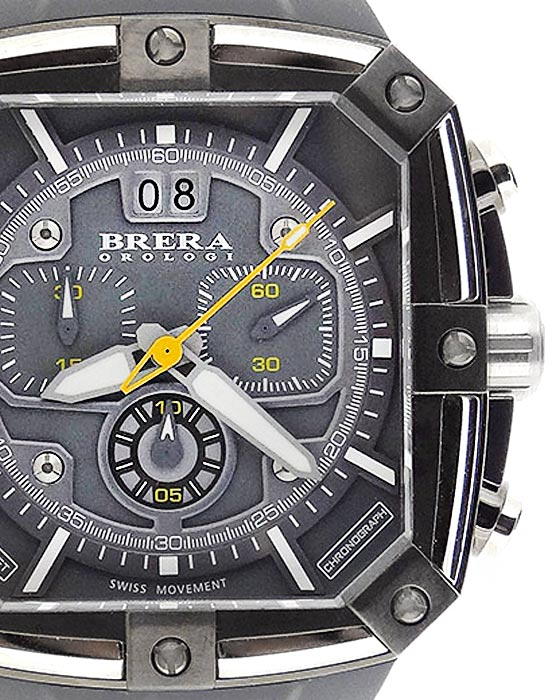 248822d3f46 Brera Orologi Supersportivo Square Chronograph Watch
