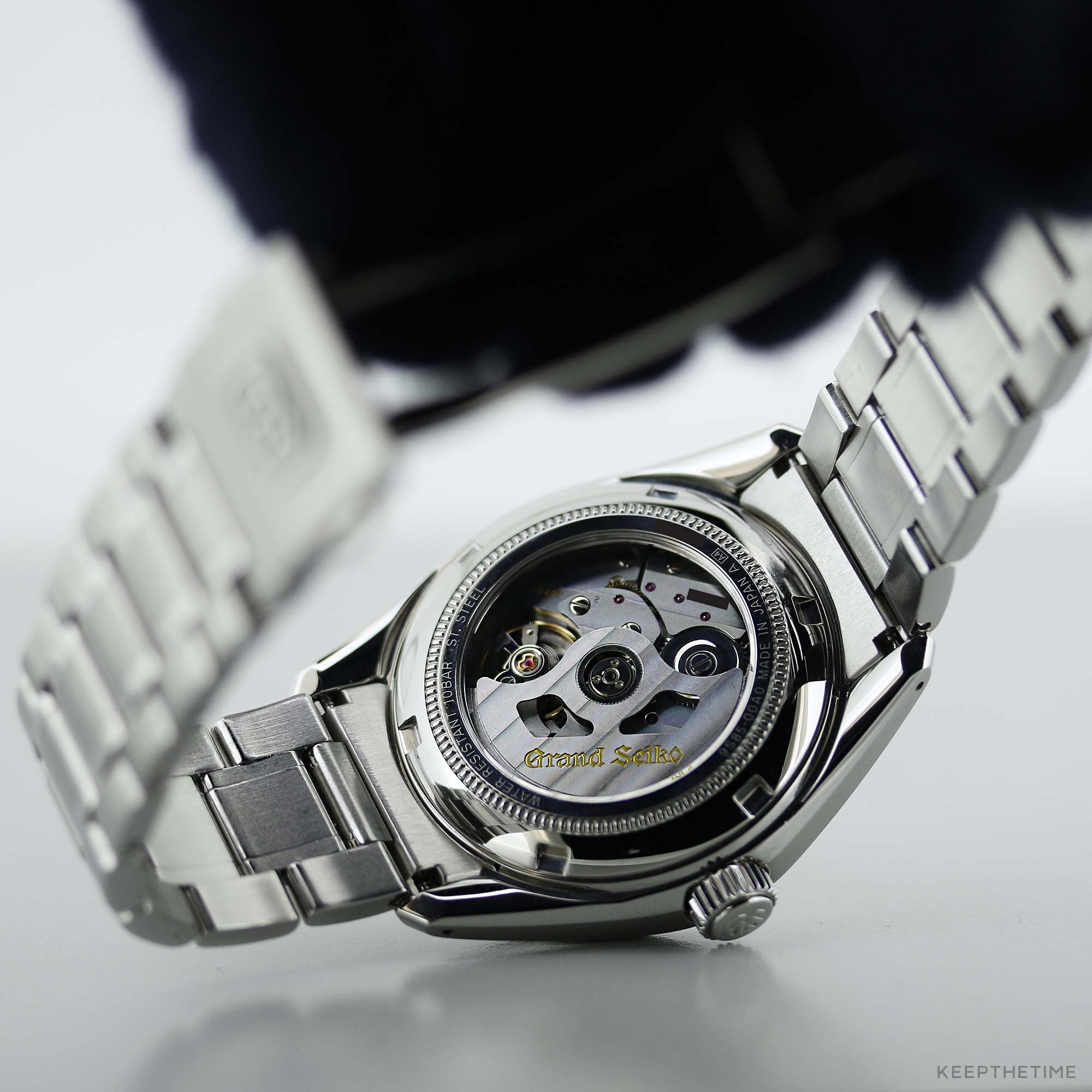 via gmt pin watches grand seiko r