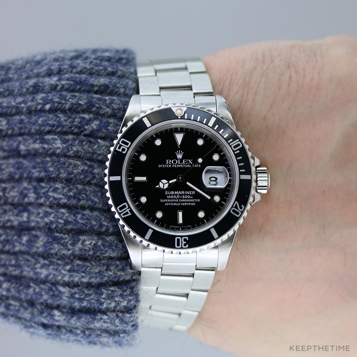 Certified Pre Owned >> Rolex Submariner 16610 Certified Pre-Owned | New-To-You ...
