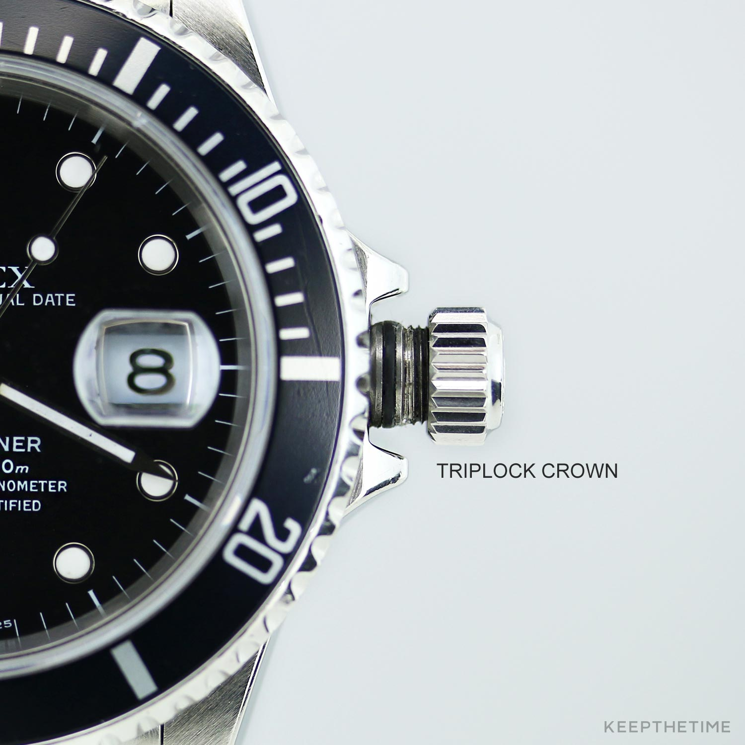 Rolex 16610 Submariner Early 1990s Model