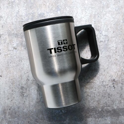 Tissot Watches Travel Coffee Cup