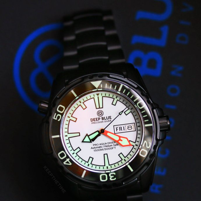 Keepthetime watch shop new to you timepieces - Dive deep blue ...