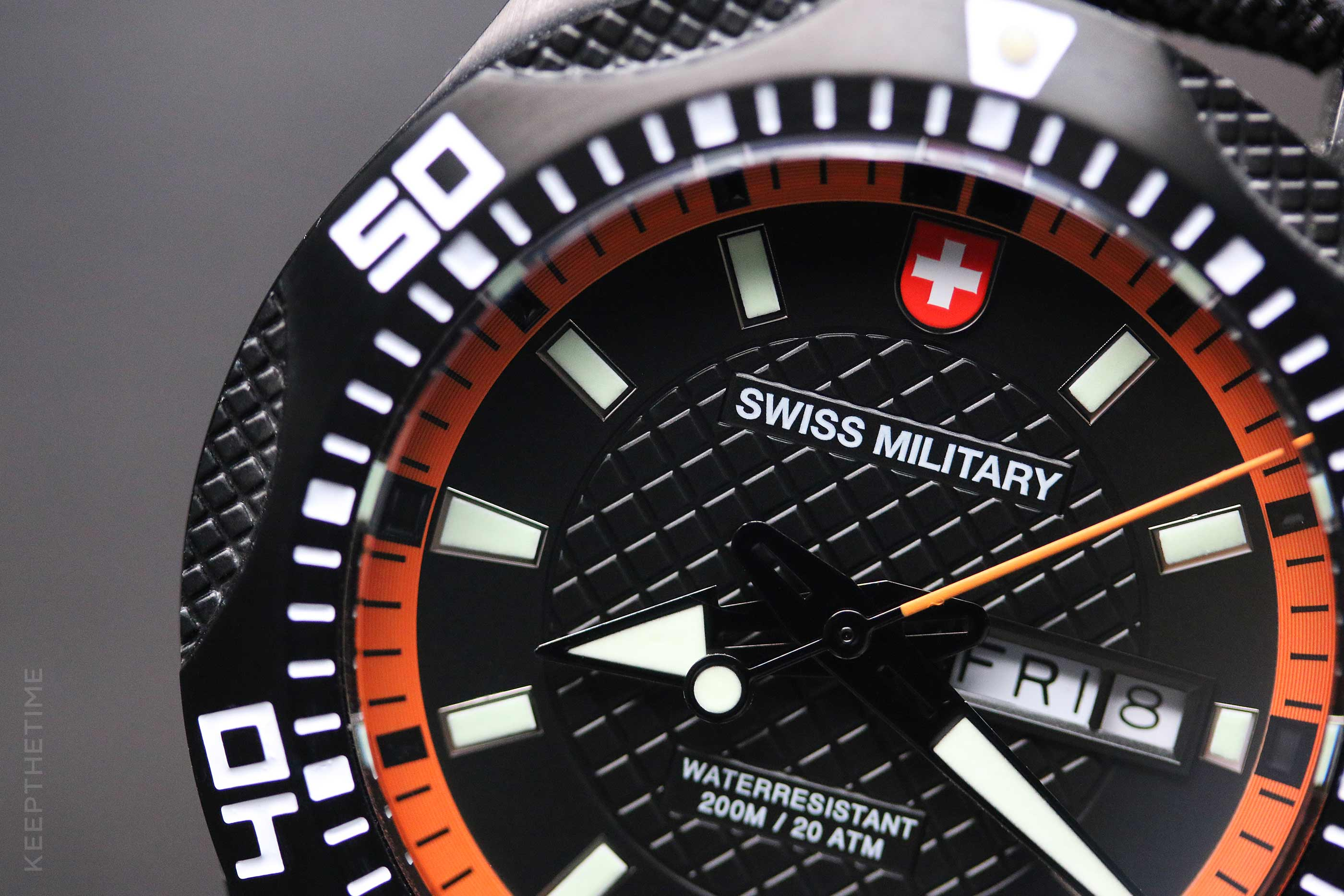 Swiss Military Tank Nero PVD