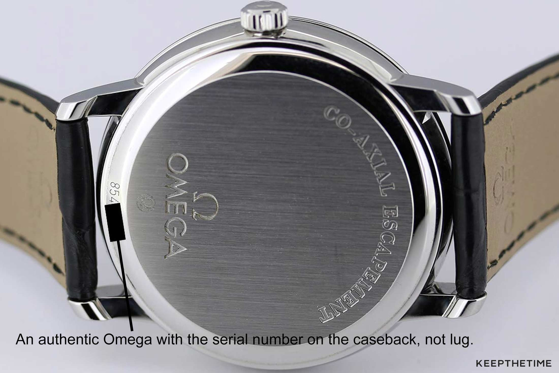 Authentic Omega Watch Serial Number Caseback