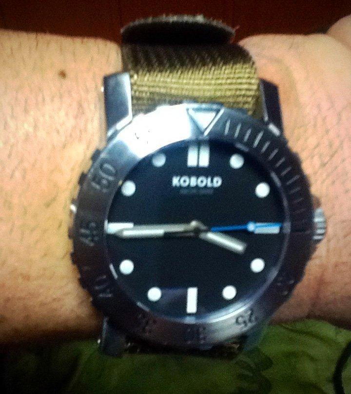 Randall's Testimonial: Kobold Arctic Diver Wristshot