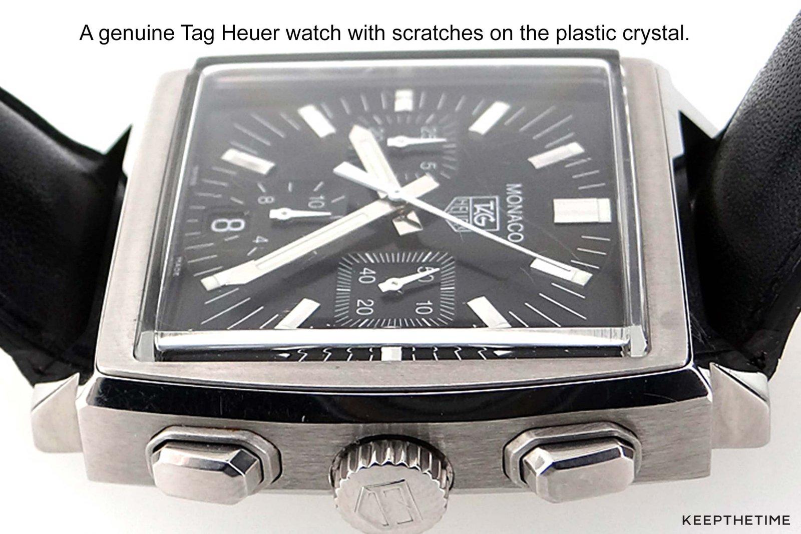 Tag Heuer Monaco Plastic Crystal