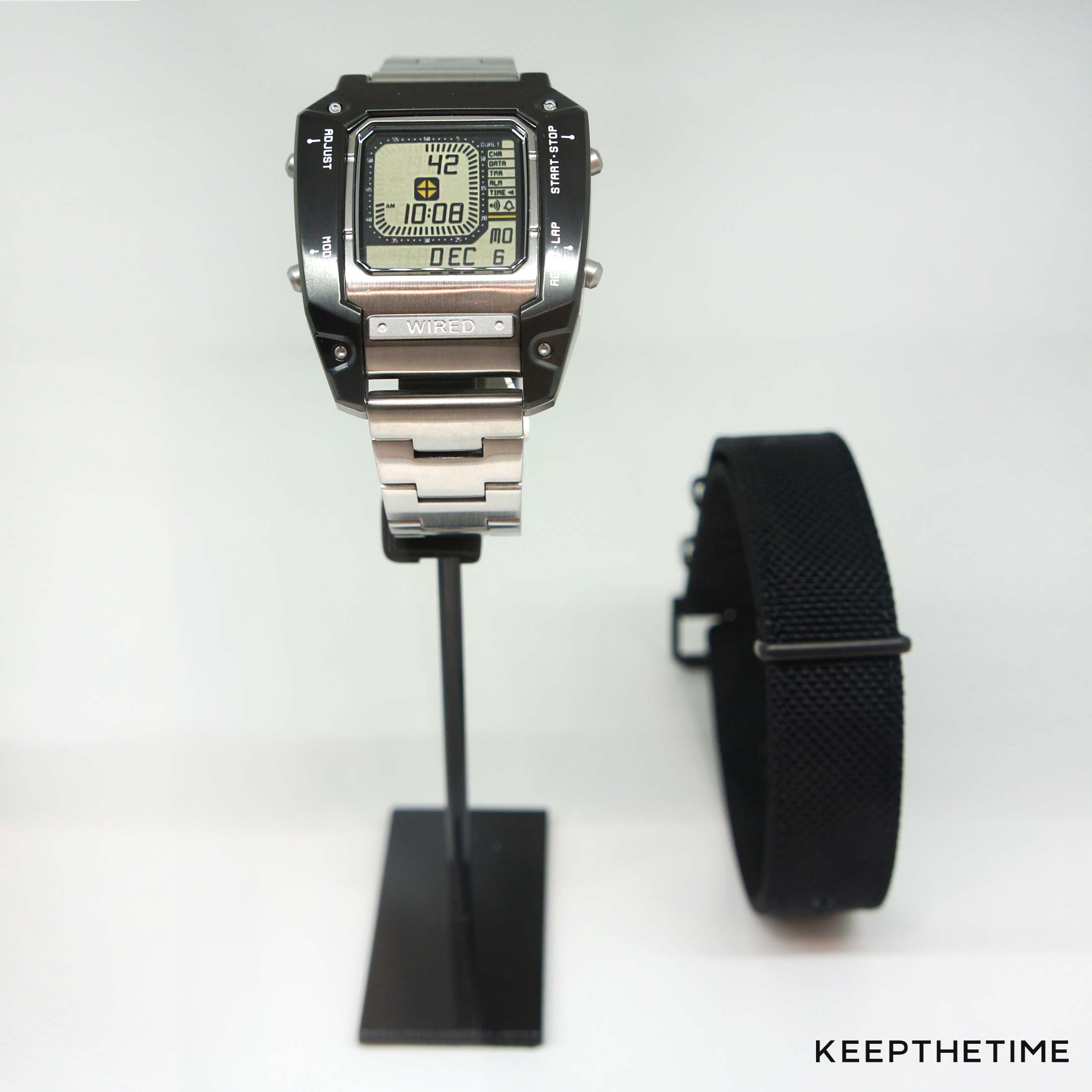 Wired Metal Gear Solid Watch