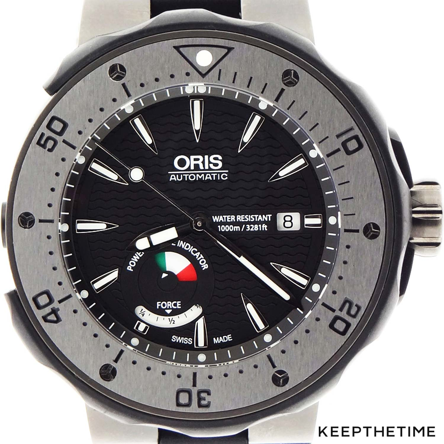 Oris prodiver dive control limited edition watch hands-on.