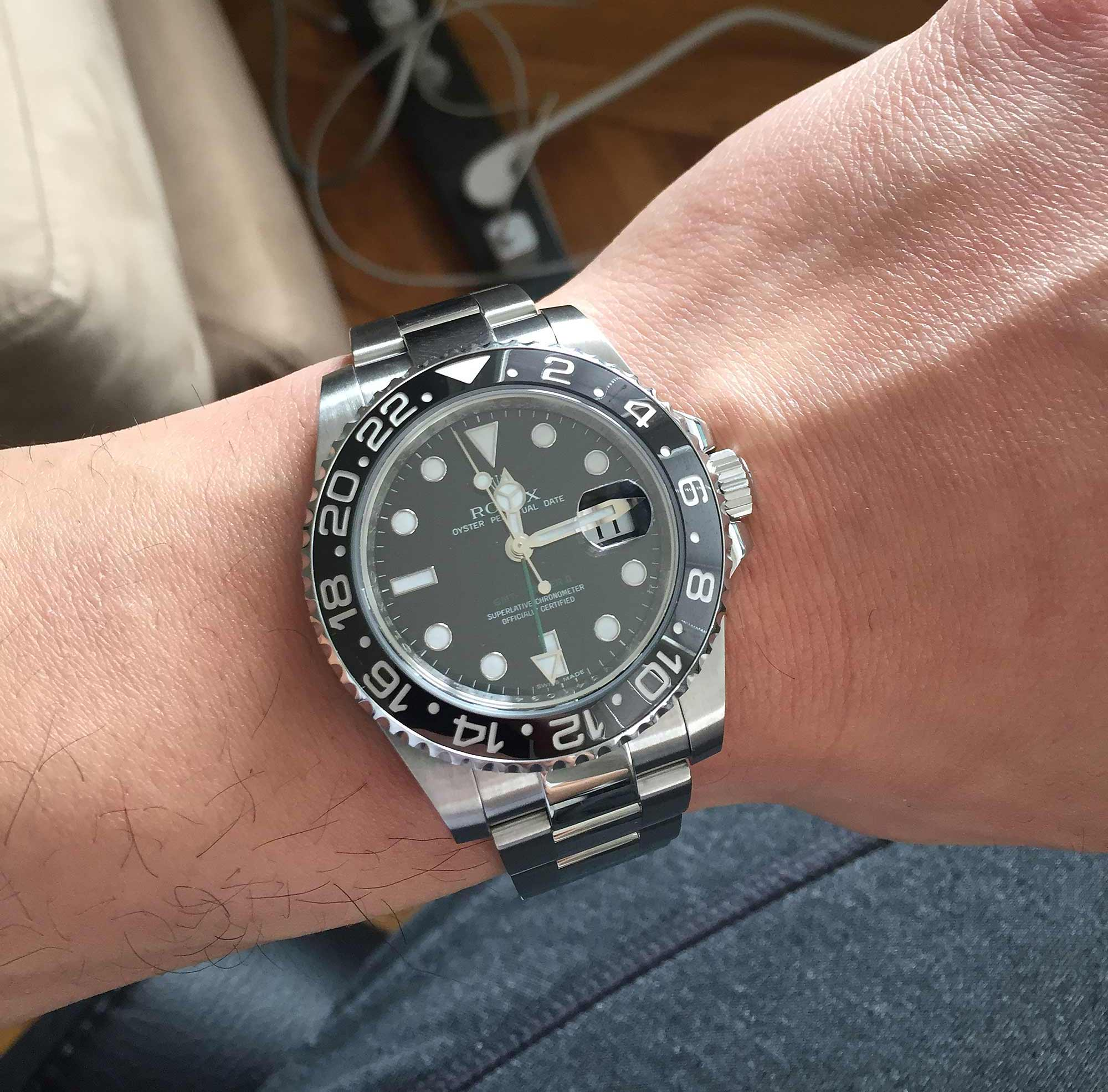 KeepTheTime Customer Testimonial: Kevin's Rolex GMT-Master II