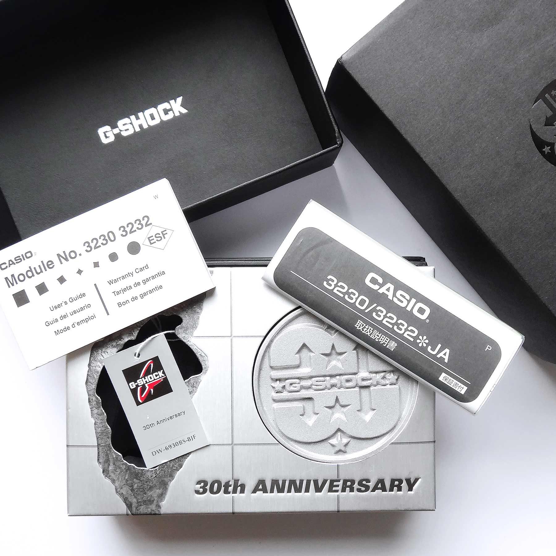 Casio G-Shock 30th Anniversary Baselworld Set for the Serious Gshockers