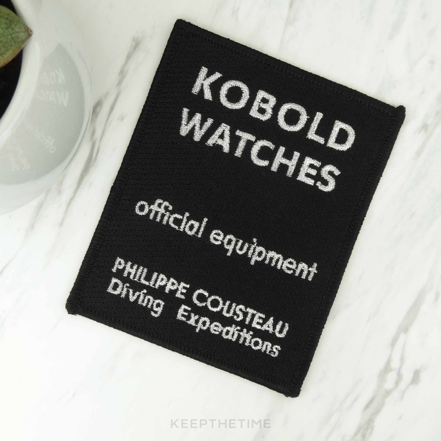 Kobold Philippe Cousteau Diving Patch
