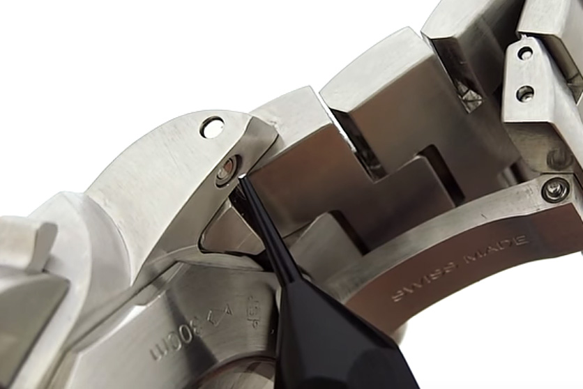 Panerai Quick Release Lug Bars Button