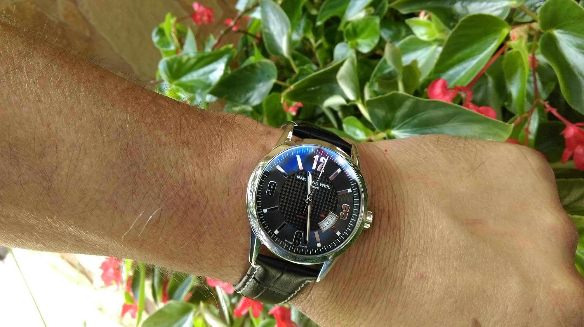 Raymond Weil Freelancer Wristshot and Review