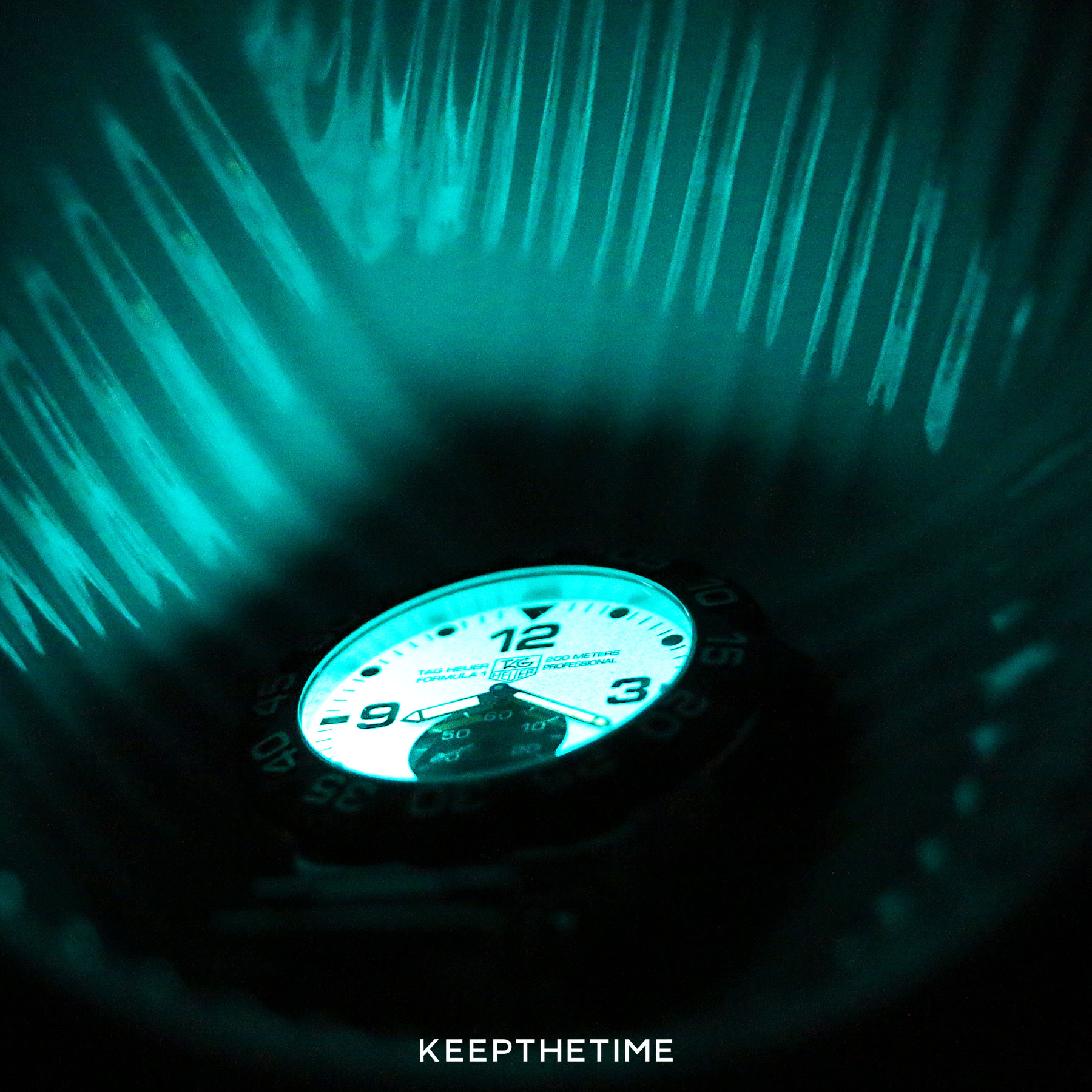Tag Heuer Lume Dial 2