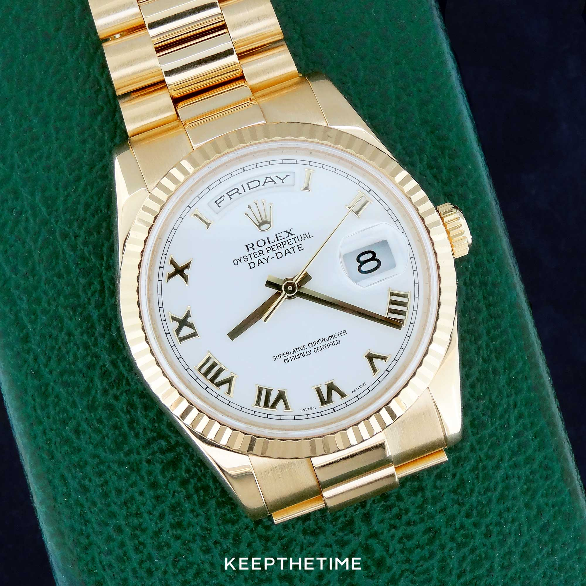 Rolex 118238 Day Date President