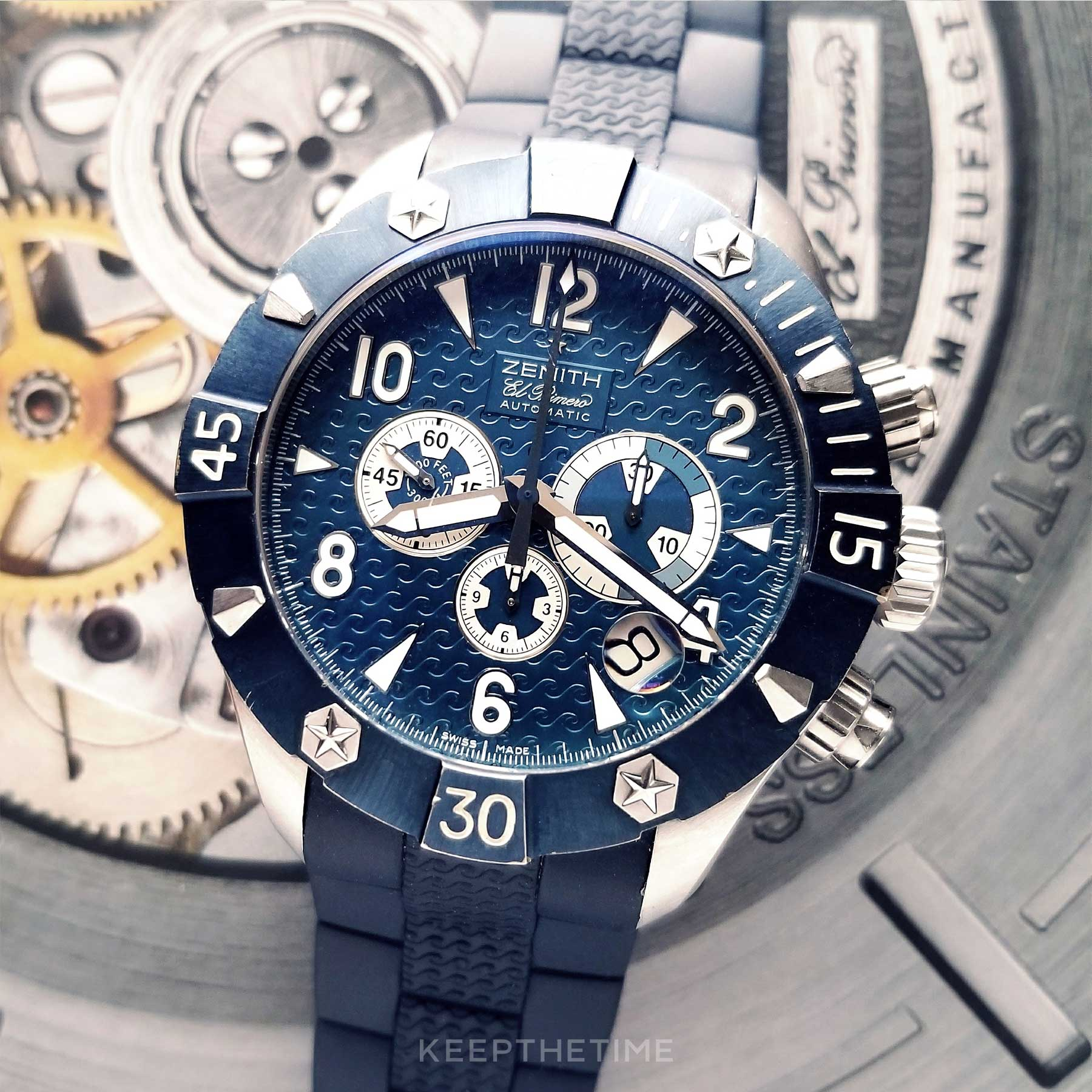 Zenith Defy Blue Dial Limited Edition Chrono