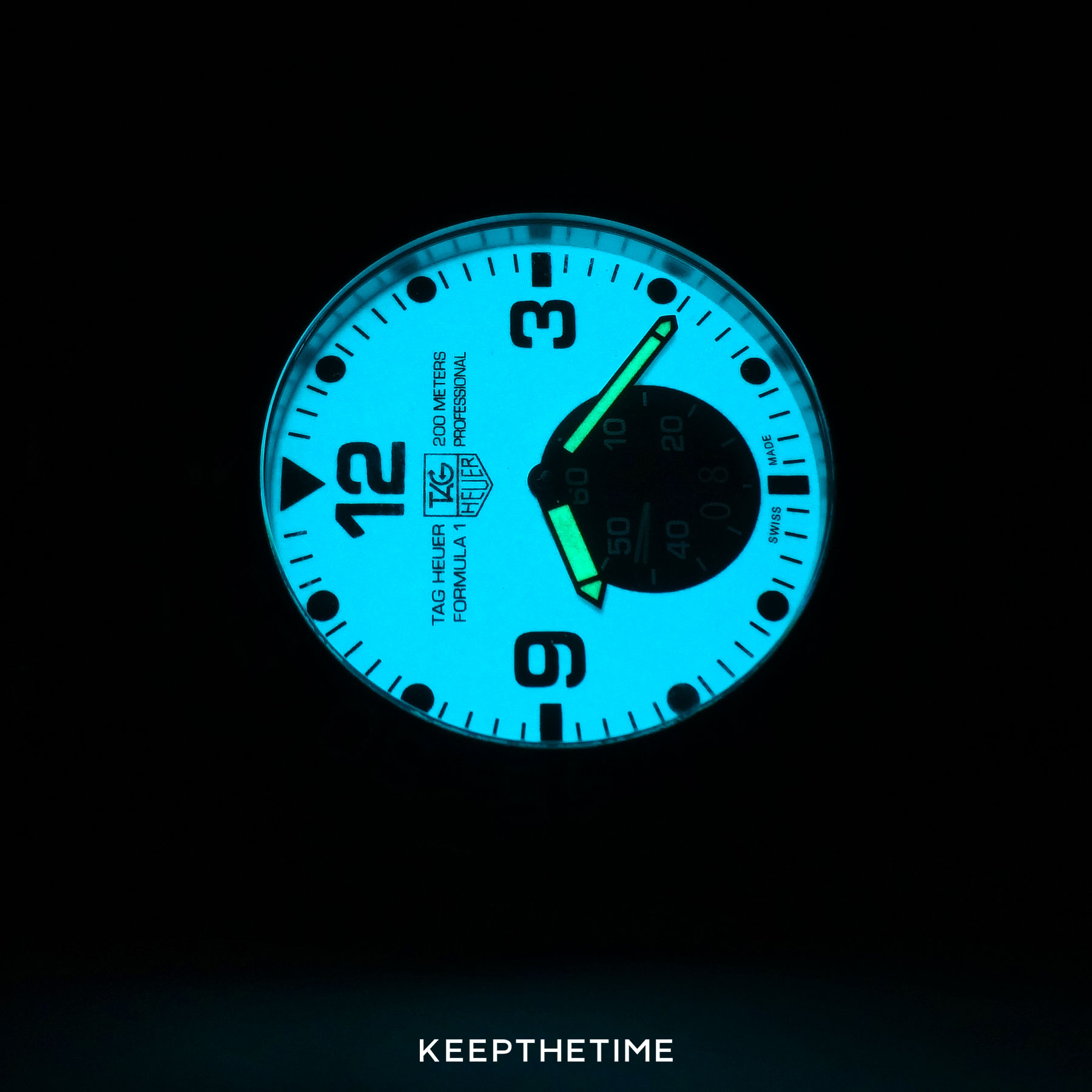 Tag Heuer Lume Dial