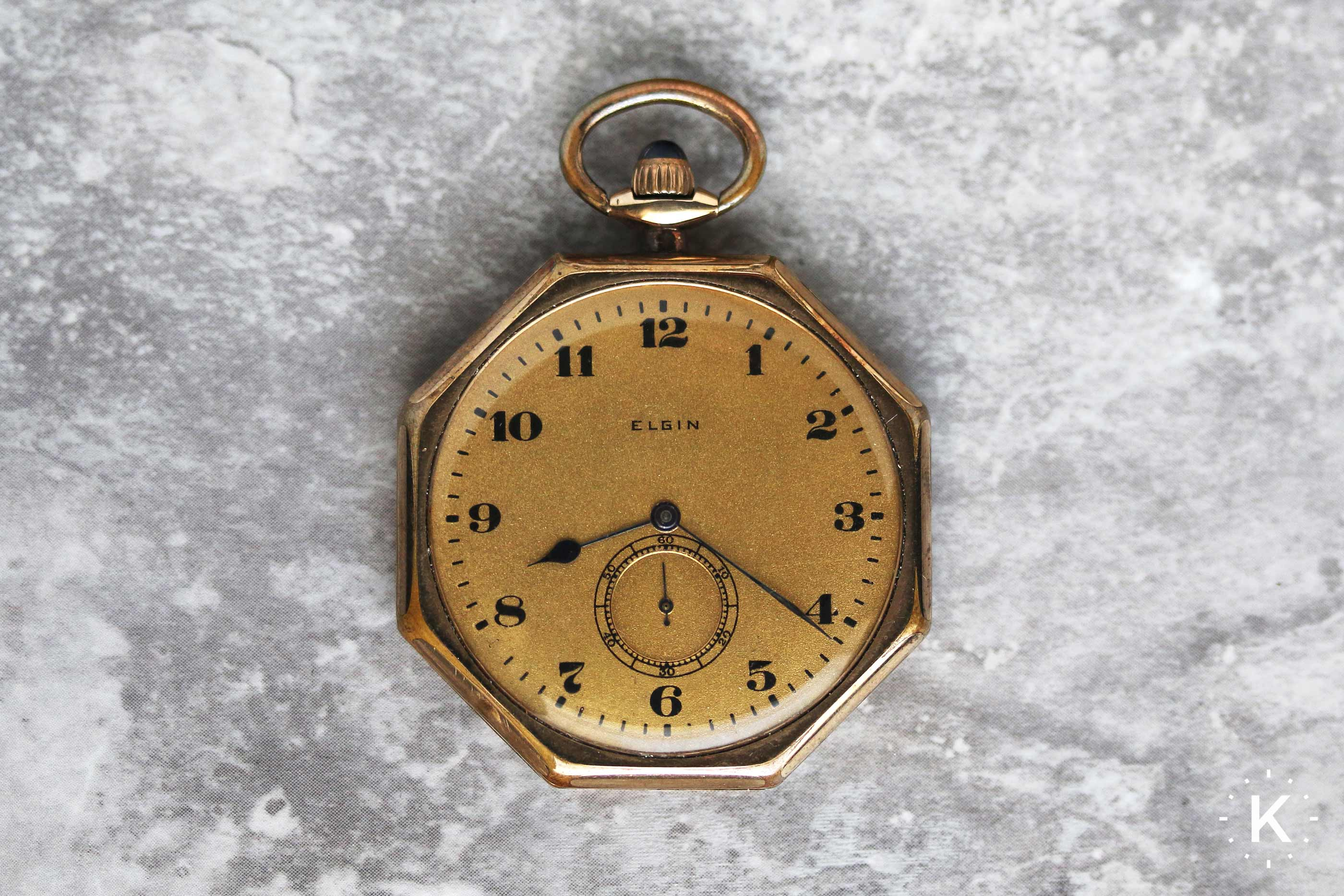 1917 Elgin Pocket Watch