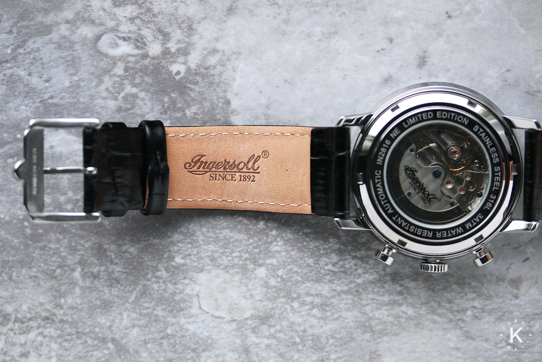 Ingersoll In2816bk Houston Watch 16