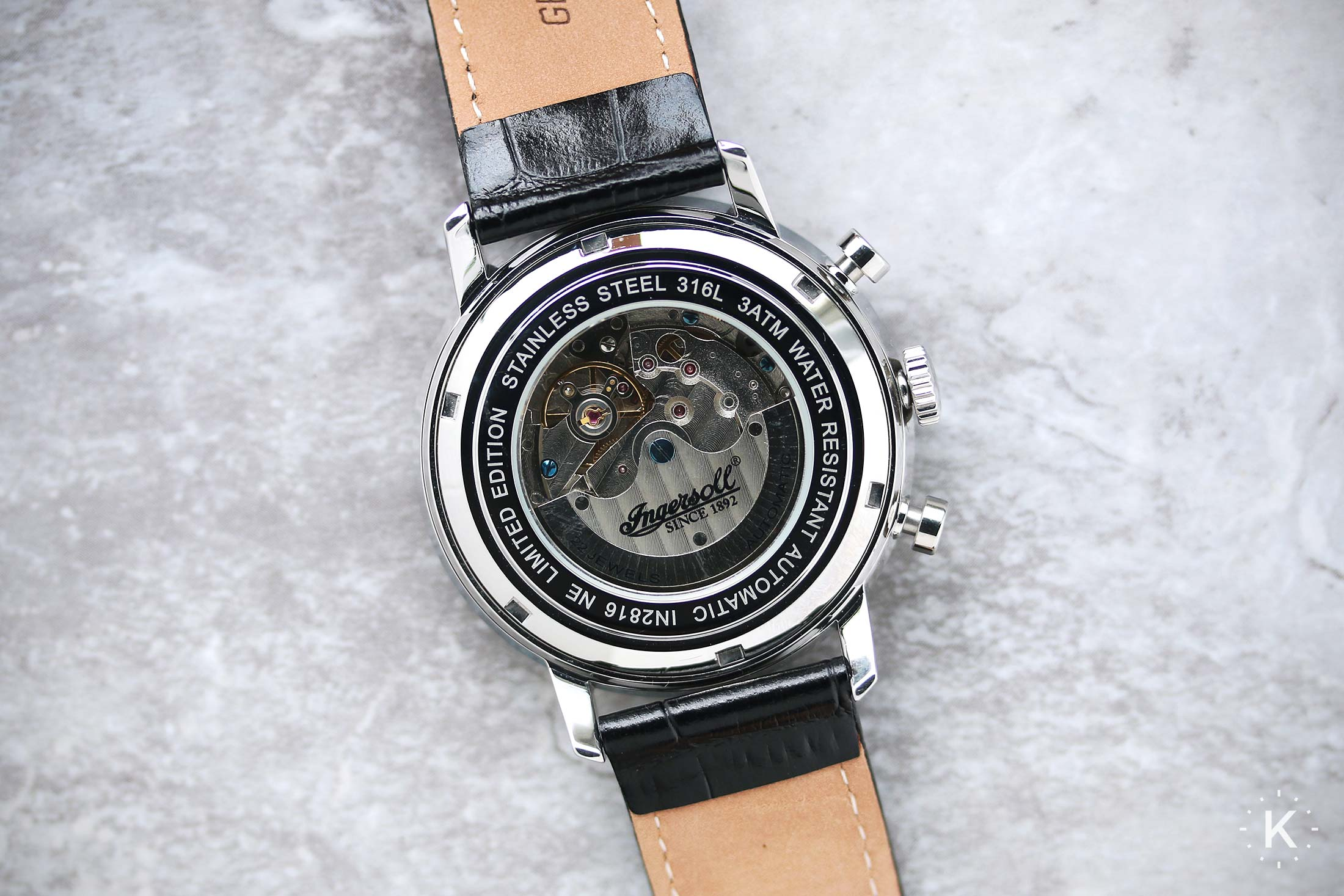 Ingersoll In2816bk Houston Watch 17