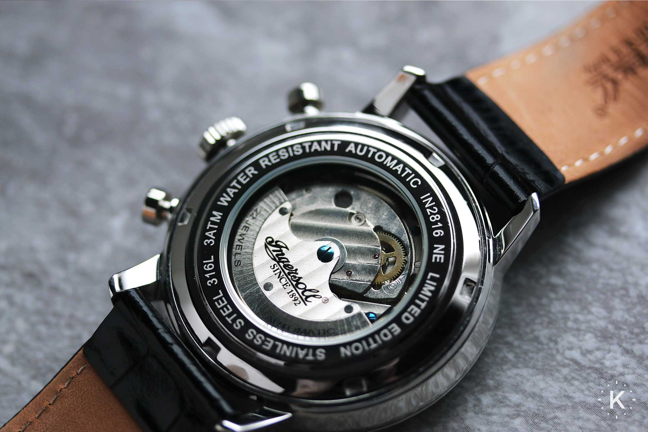 Ingersoll In2816bk Houston Watch 24