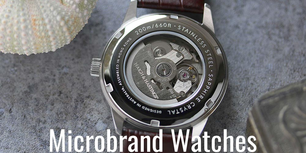 Microbrand Watches 7 4 18