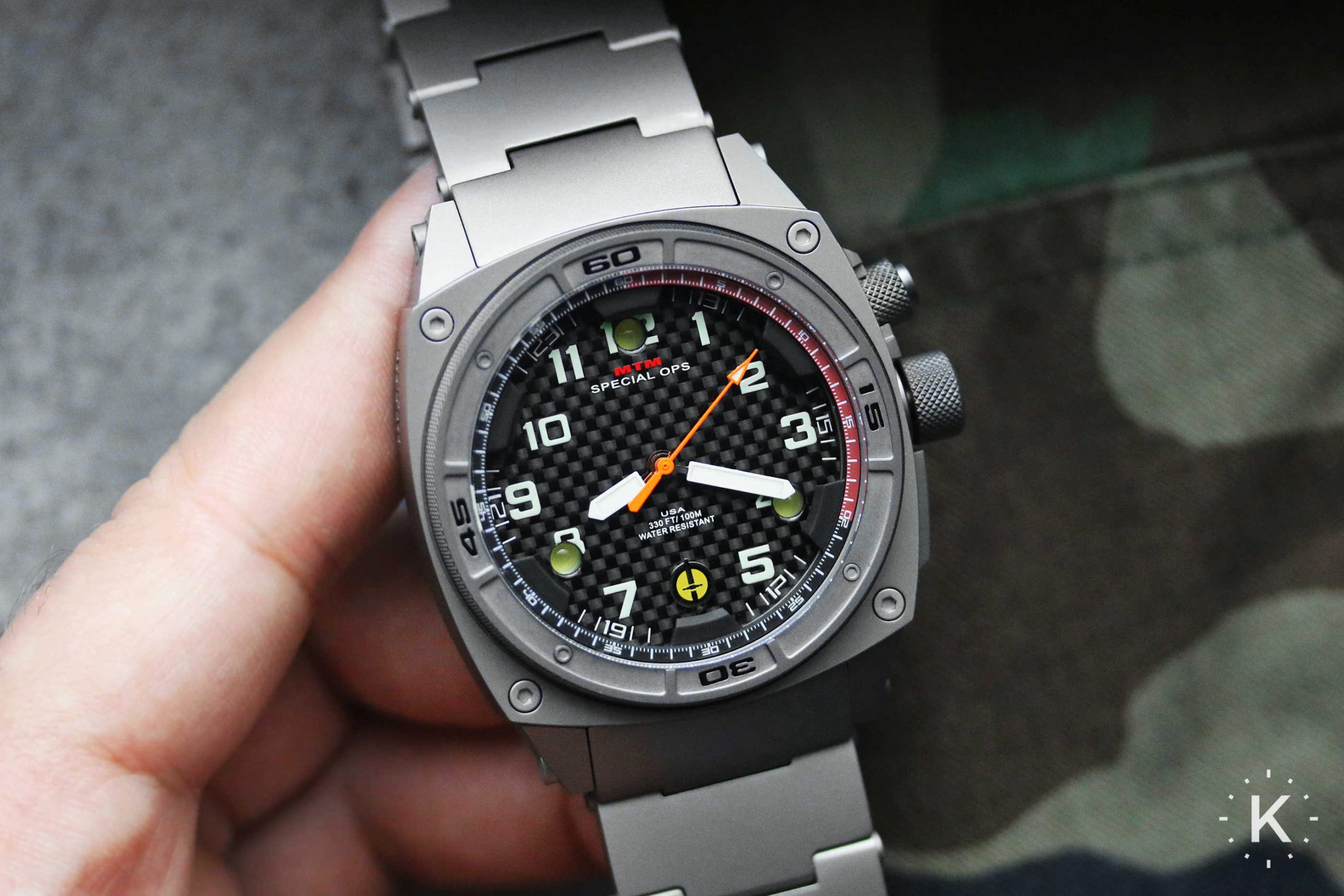 Mtm Special Ops Falcon Watch 15