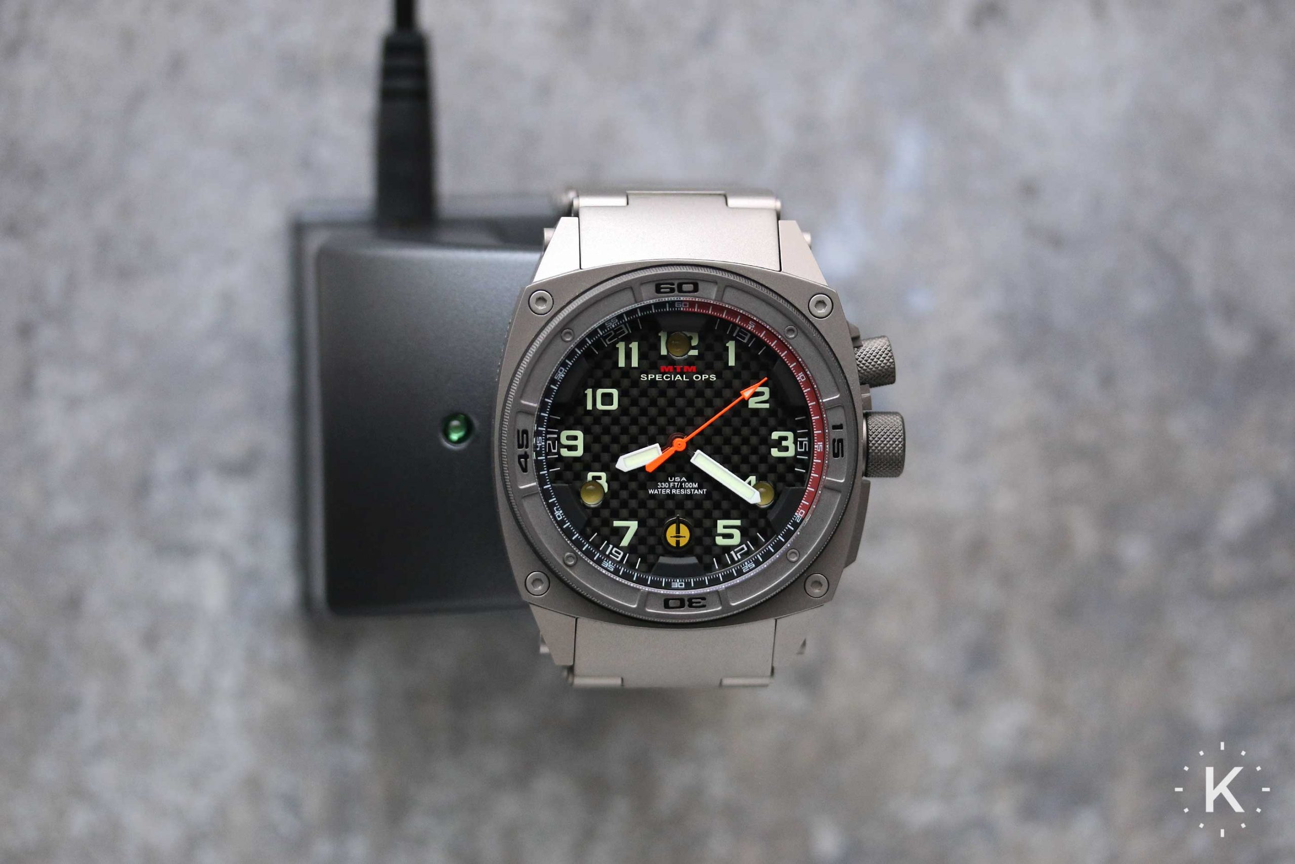 Mtm Special Ops Falcon Watch Charger
