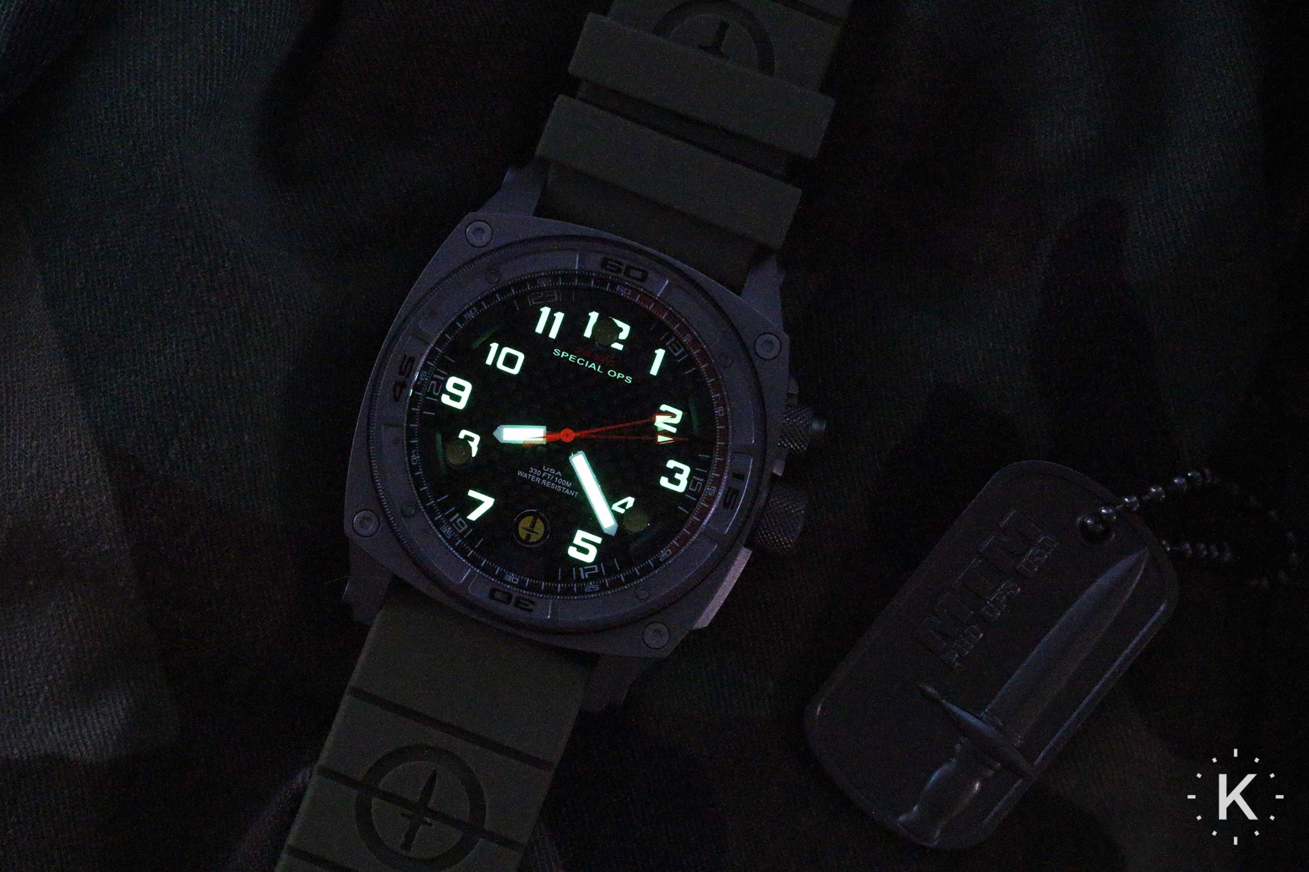 Mtm Special Ops Falcon Watch Lumeshot