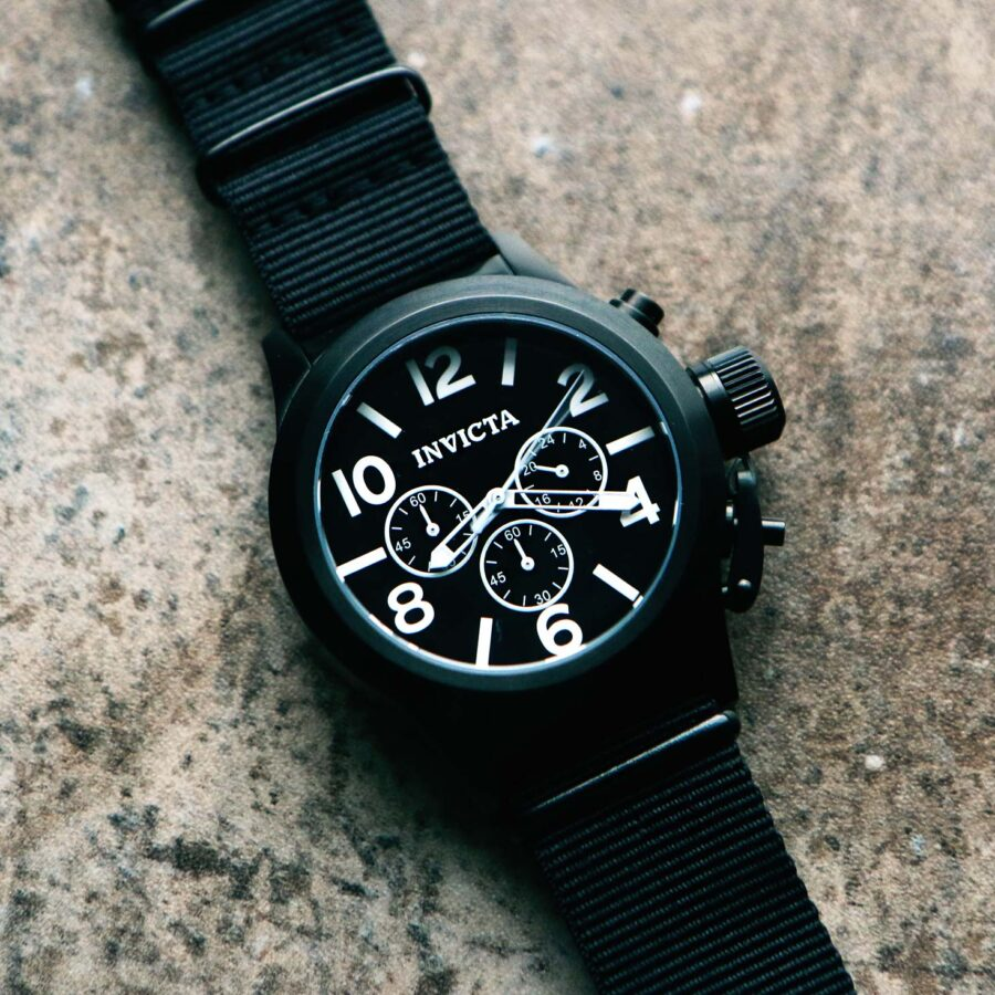 Invicta Corduba Black Tactical