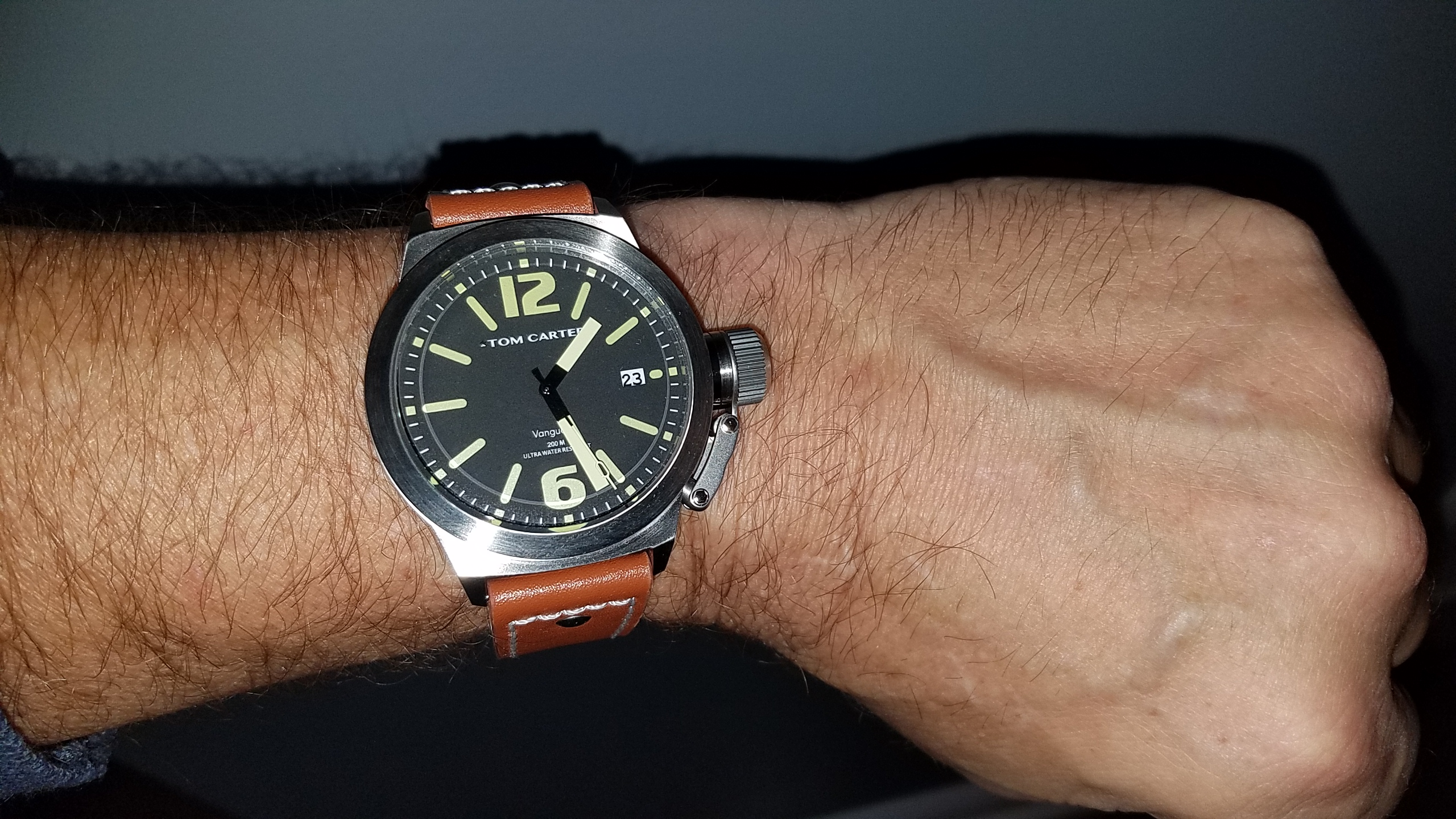 Tom Carter Vanguard Wristshot Keith