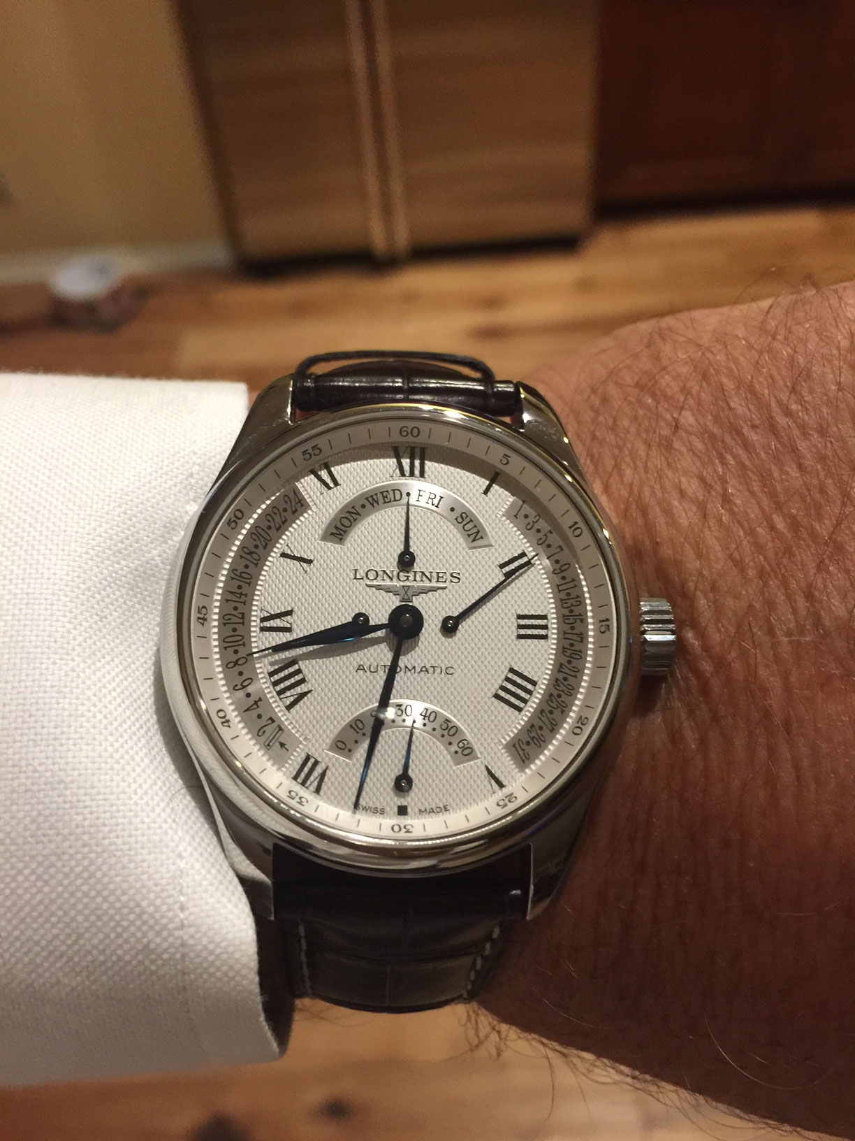 Longines Master Collection Wristshot John