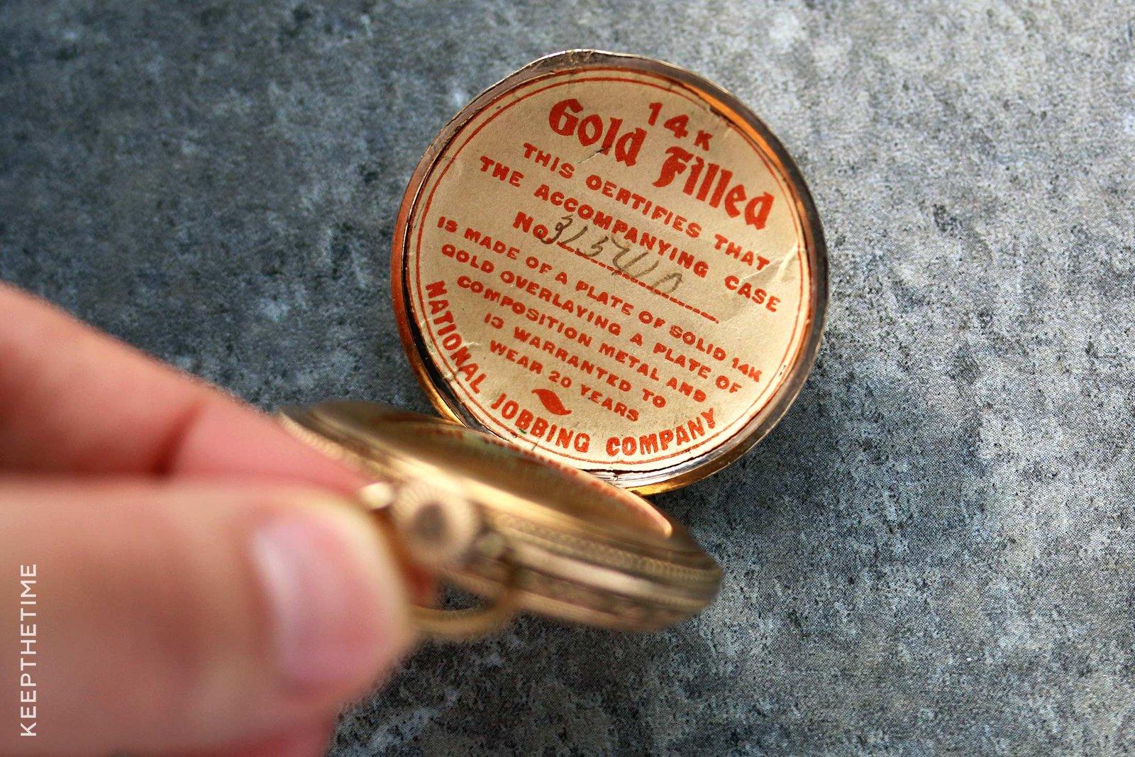 1899 Waltham Ladies Pocket Watch