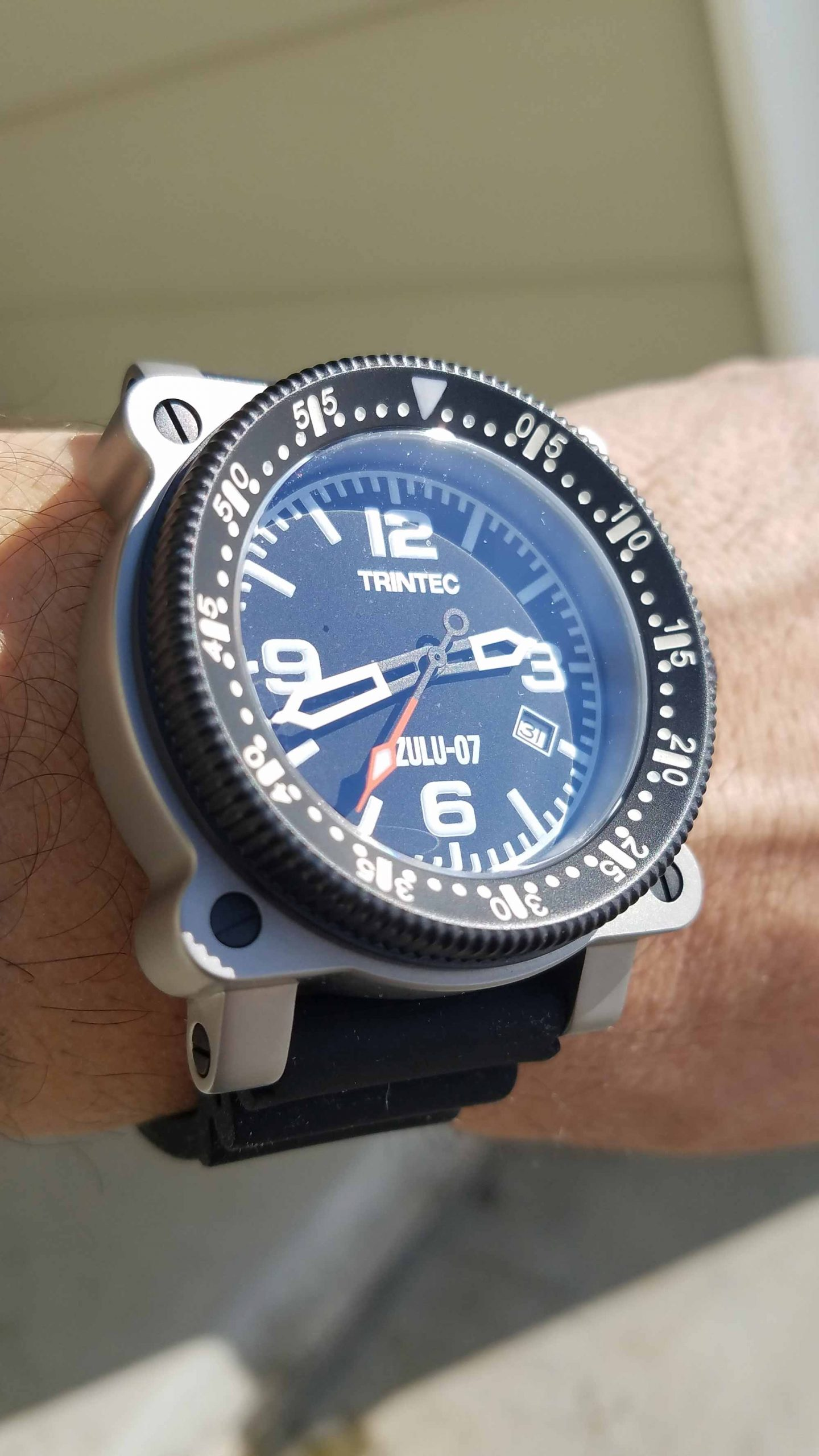 Trintec Zulu 07 Customer Wristshot Kelly 3