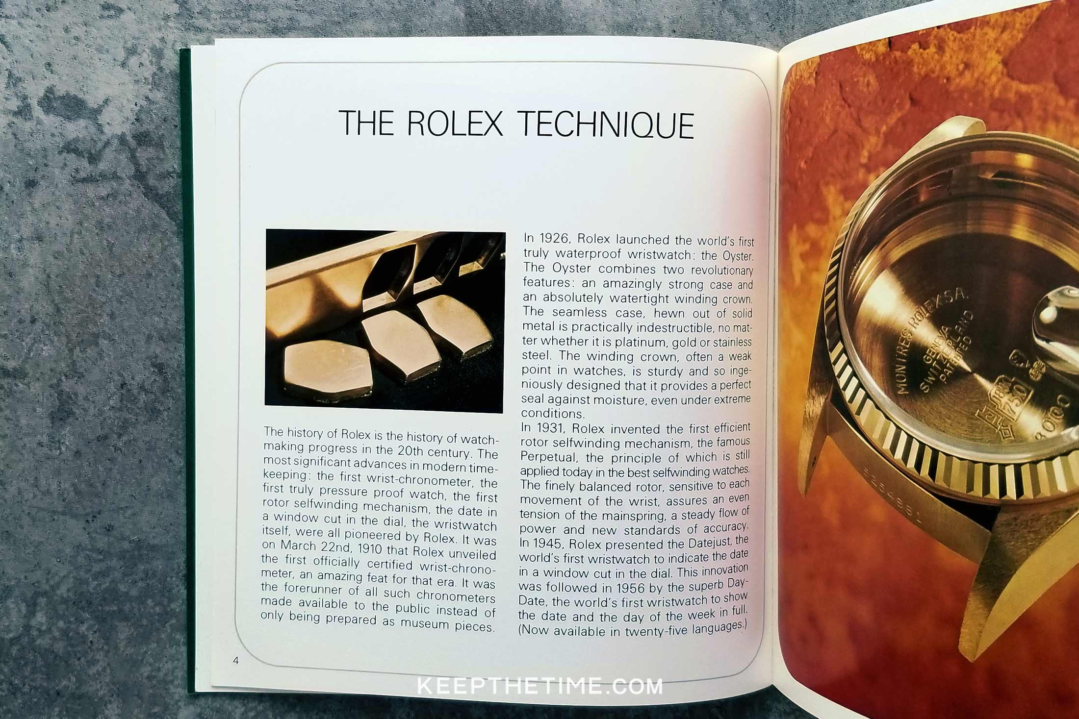 Rolex Oyster Catalog from 1977
