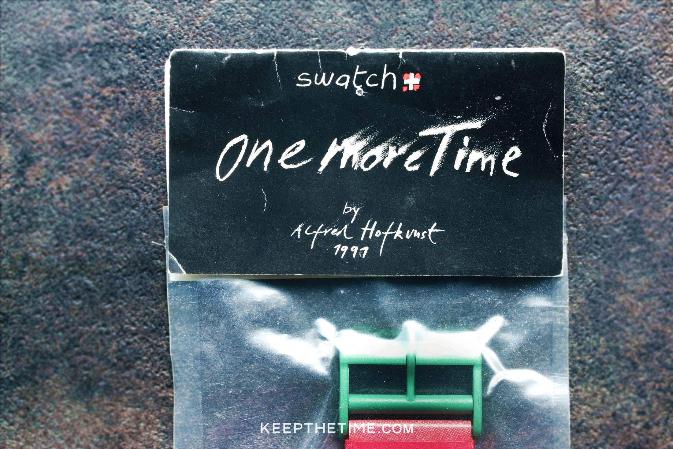 1991 Swatch Red Pepper by Alfred Hofkunst
