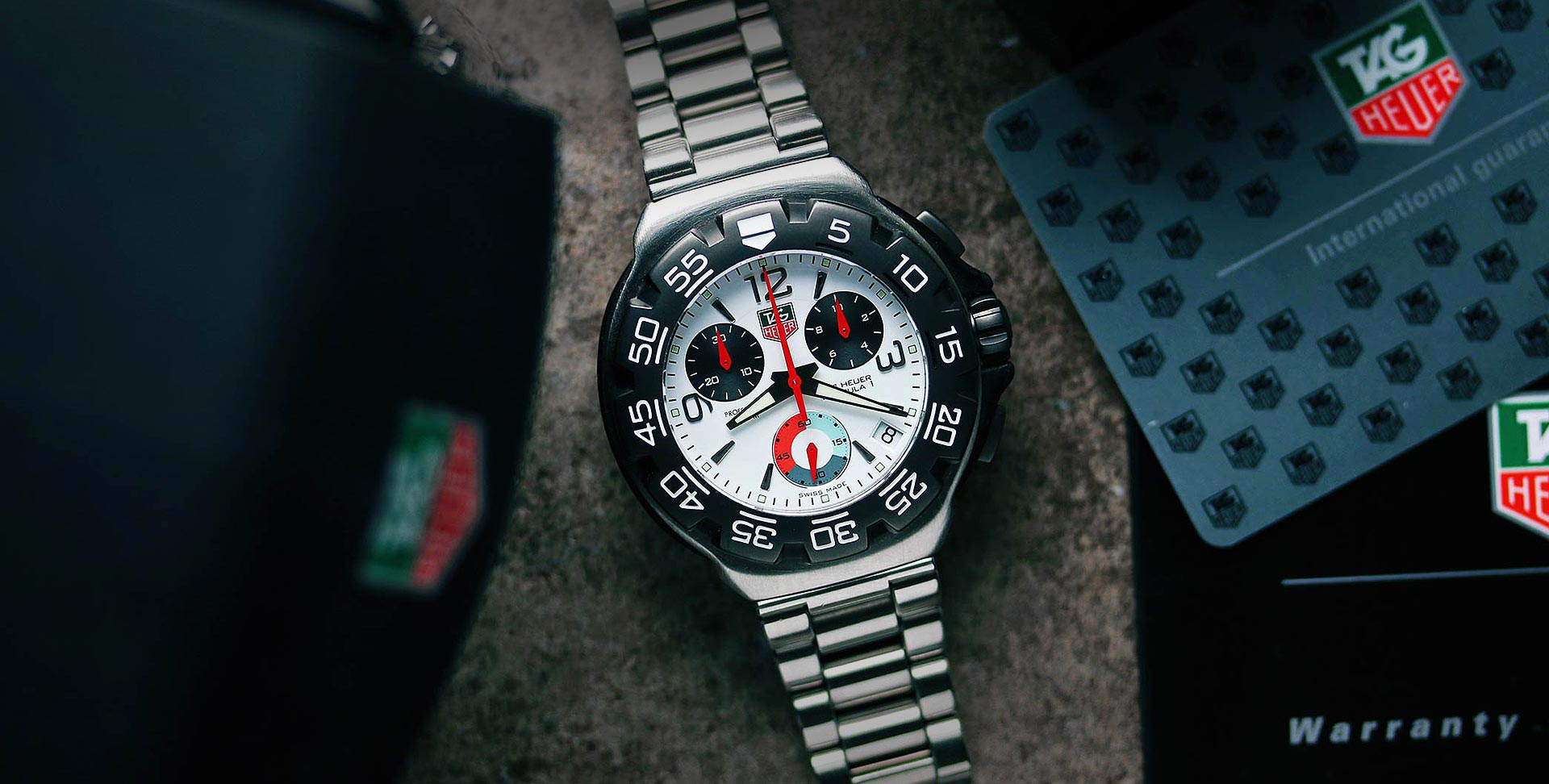 Tag Heuer F1 Banner 9 3 19
