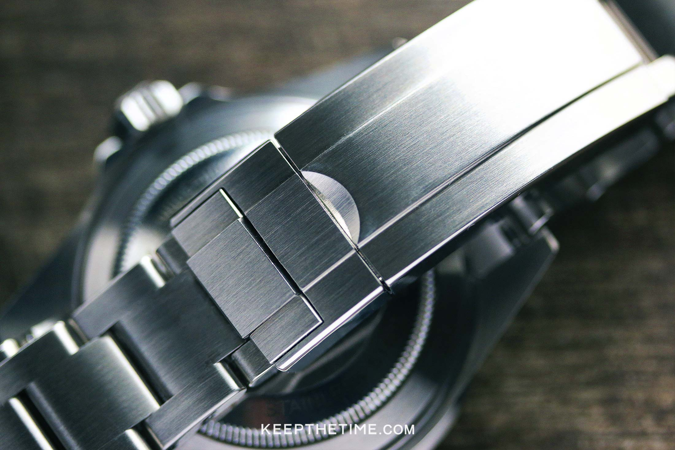Ginault Ocean Rover Watch Review Buckle
