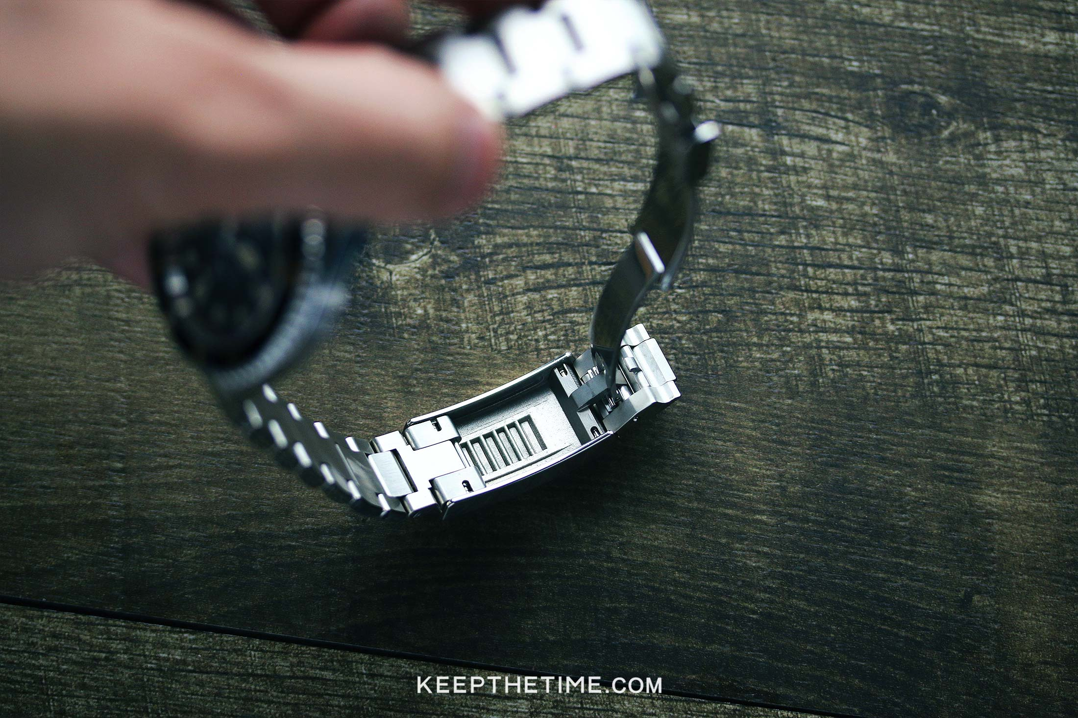 Ginault Ocean Rover Watch Review Clasp