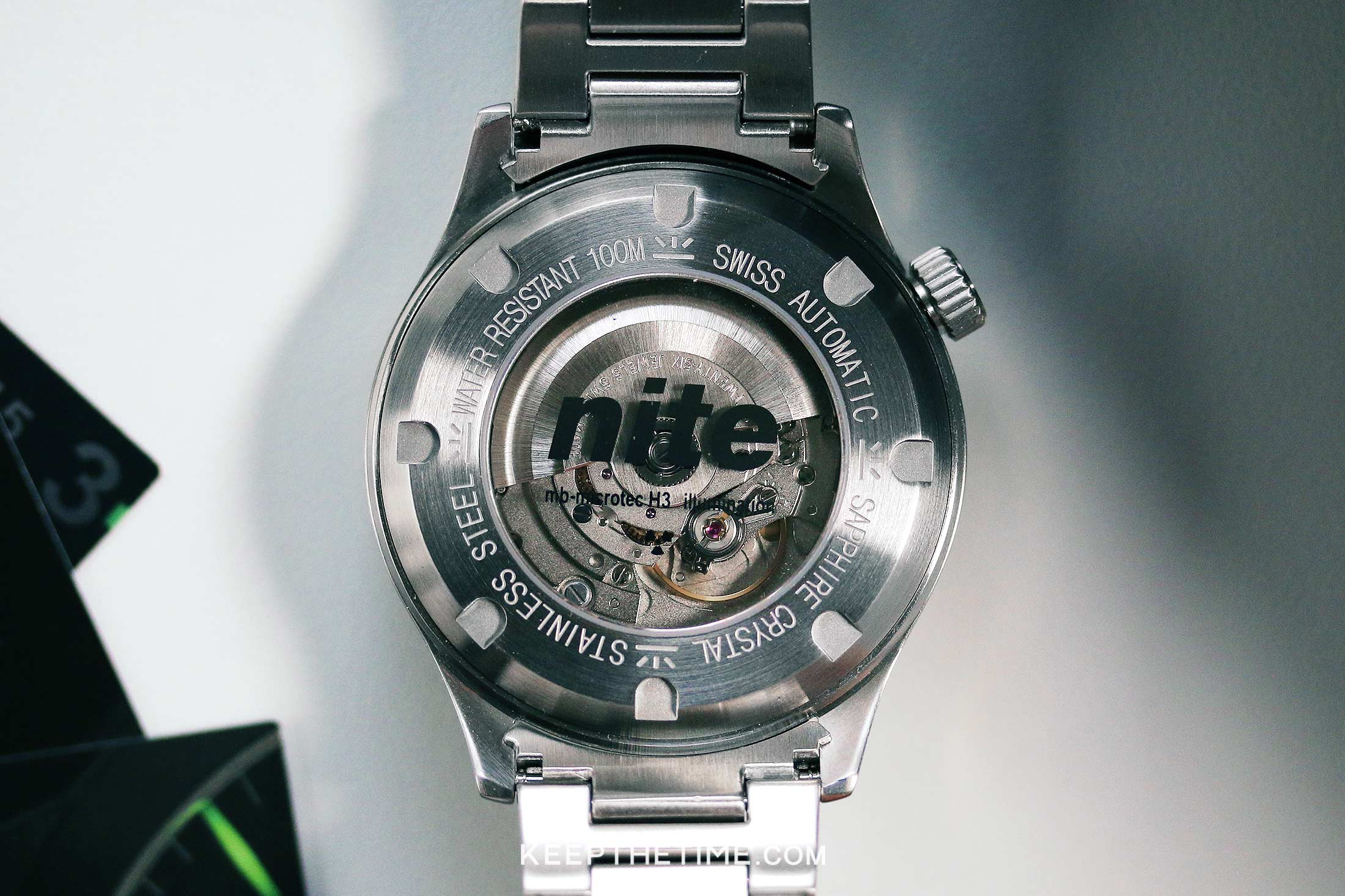 SW200-1 in a Nite Icon watch