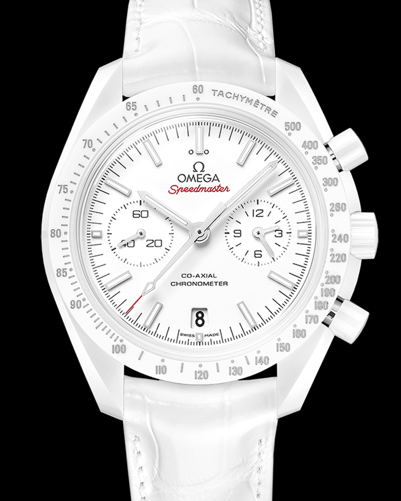 Omega Speedmaster White Side Of The Moon Front