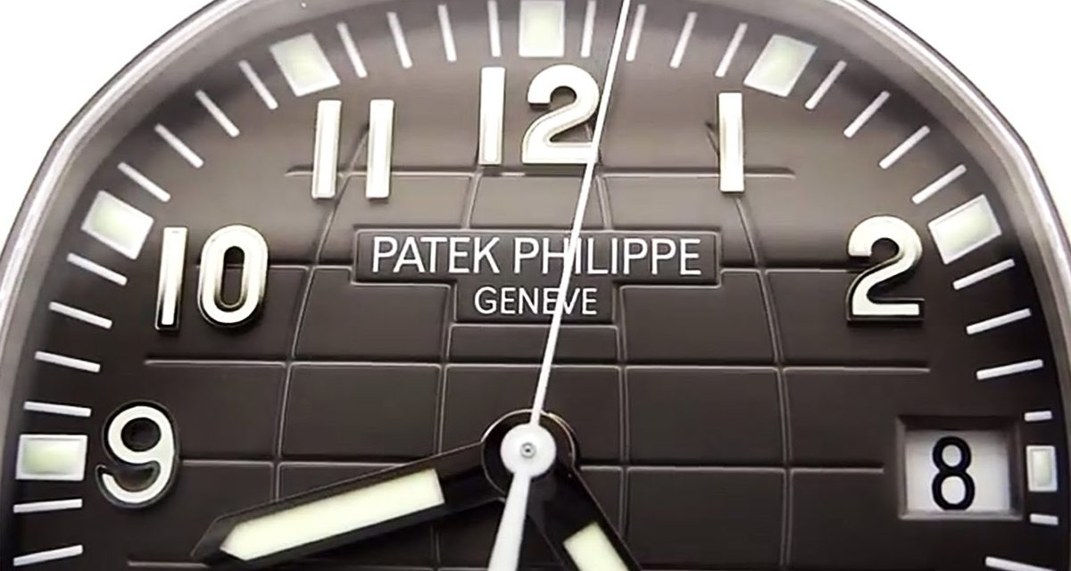 Patek Philippe Aquanaut 5167/1a 001 Hd Video Hands On