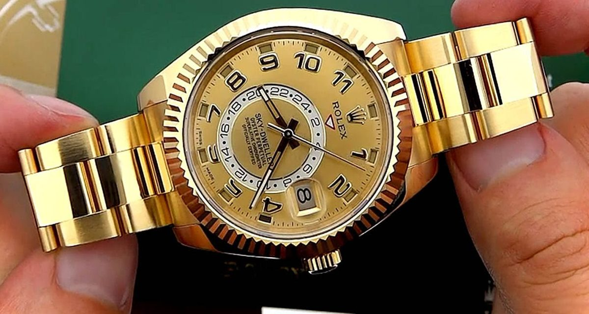 Rolex Sky Dweller Quick Video
