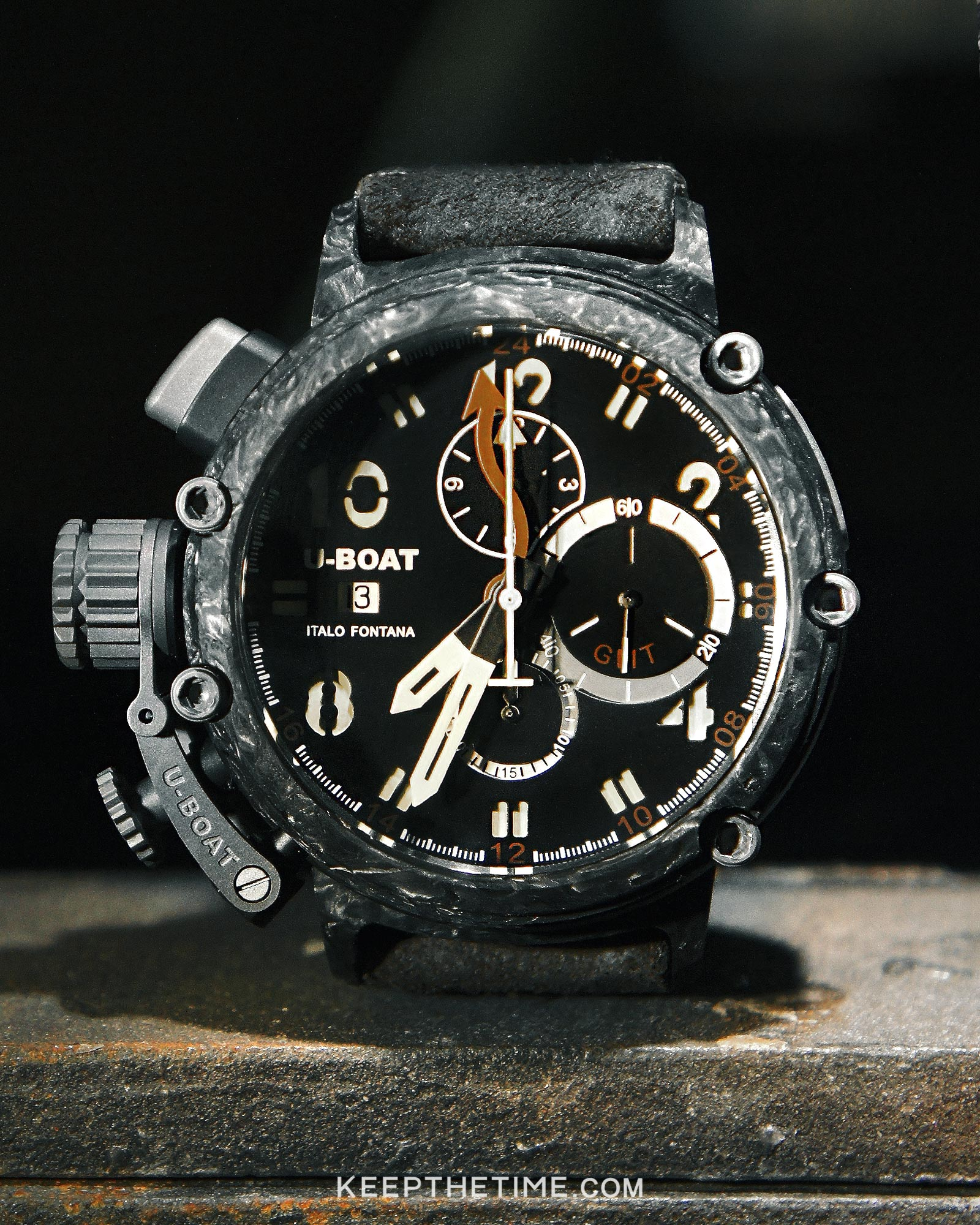 U Boat Chimera 48 Carbon Gmt Watch