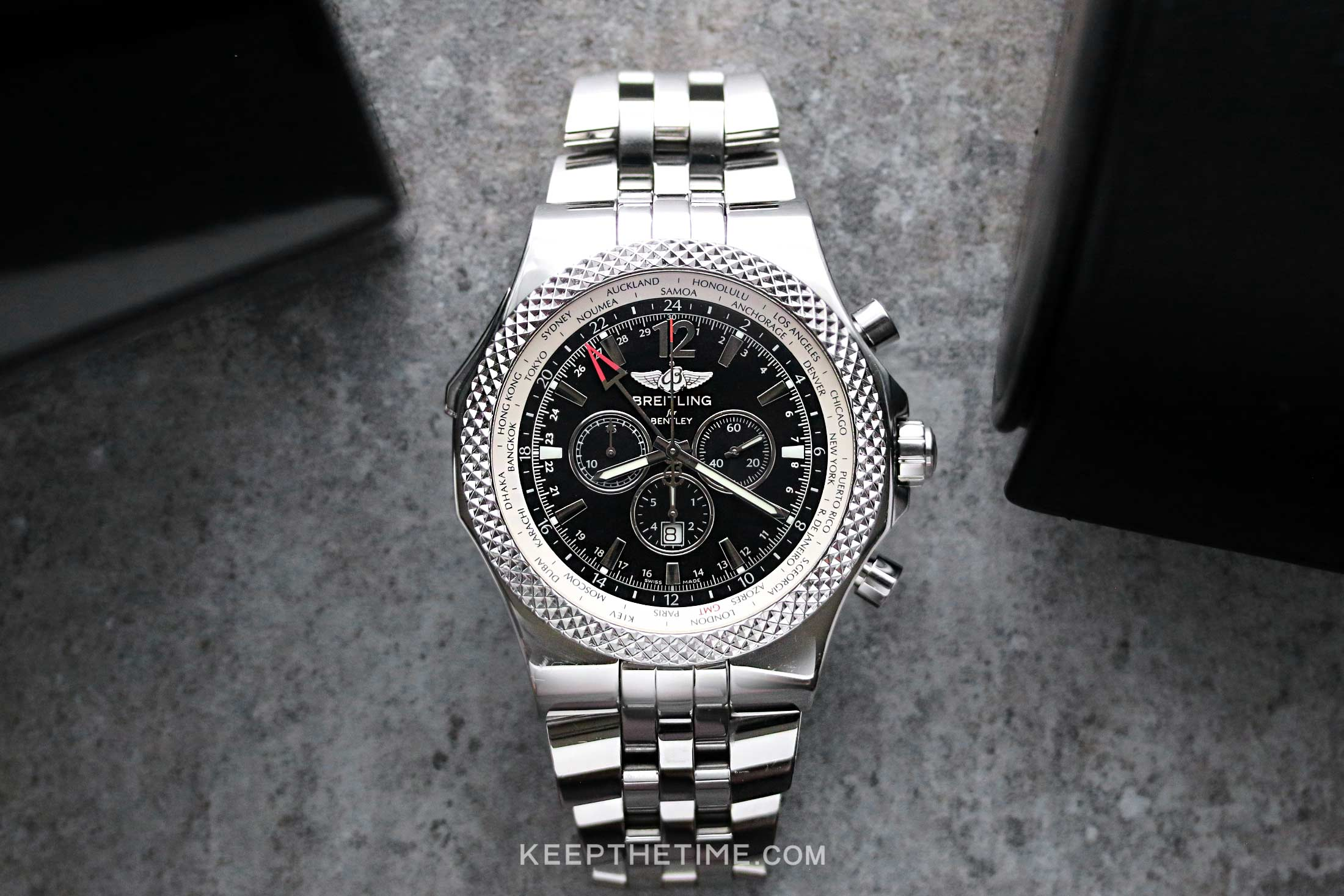 Breitling Bentley GMT Special Edition