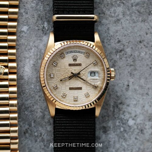 Rolex 18238 Day-Date President [Anniversary Diamond Dial]