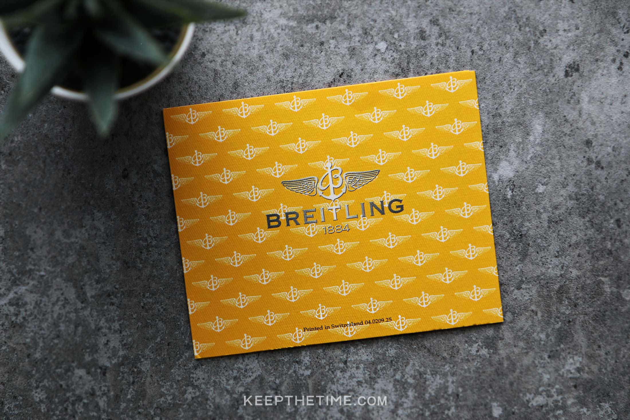 Breitling Authorized Distributors Card 10