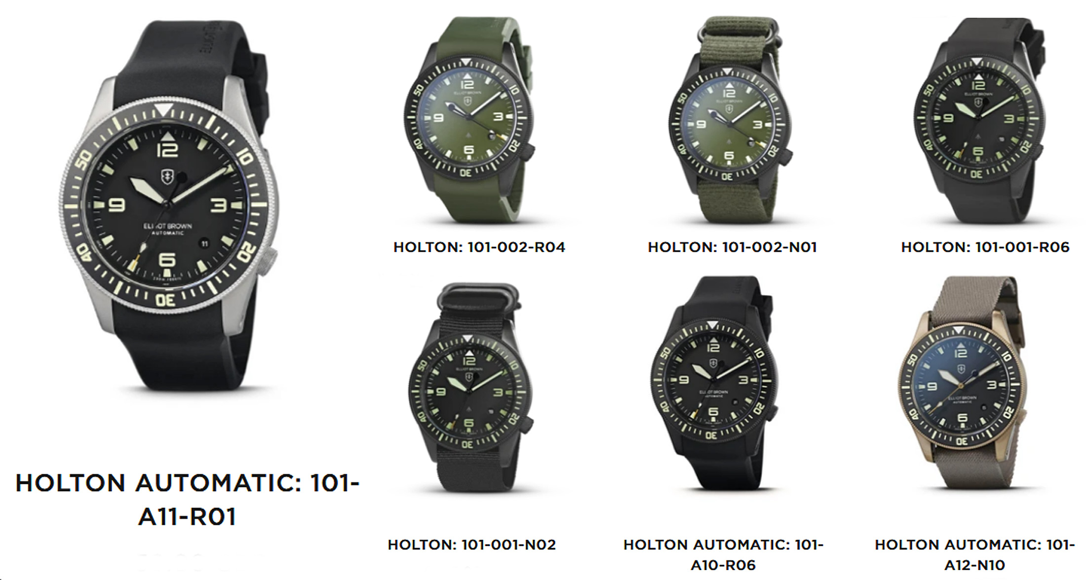 Elliot Brown Holton Automatic Lineup